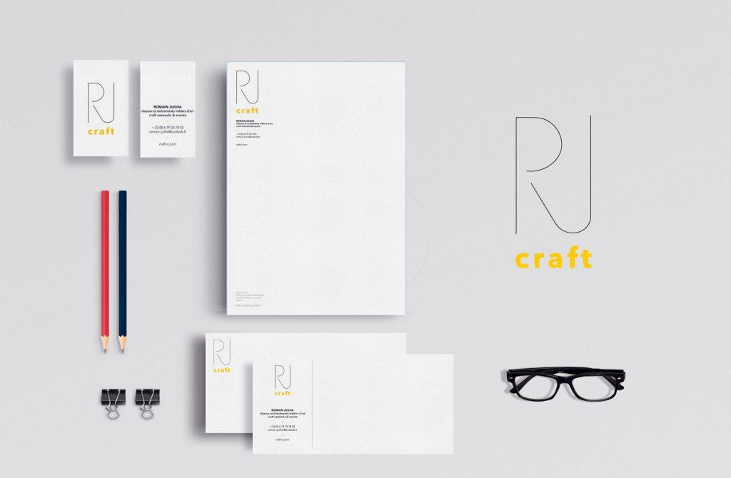 Identité visuelle Craft RJ